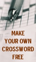 Make Your Own Crossword Free